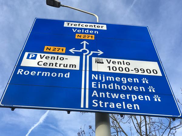 Ronnico inventariseert NBd wegwijzers in Venlo