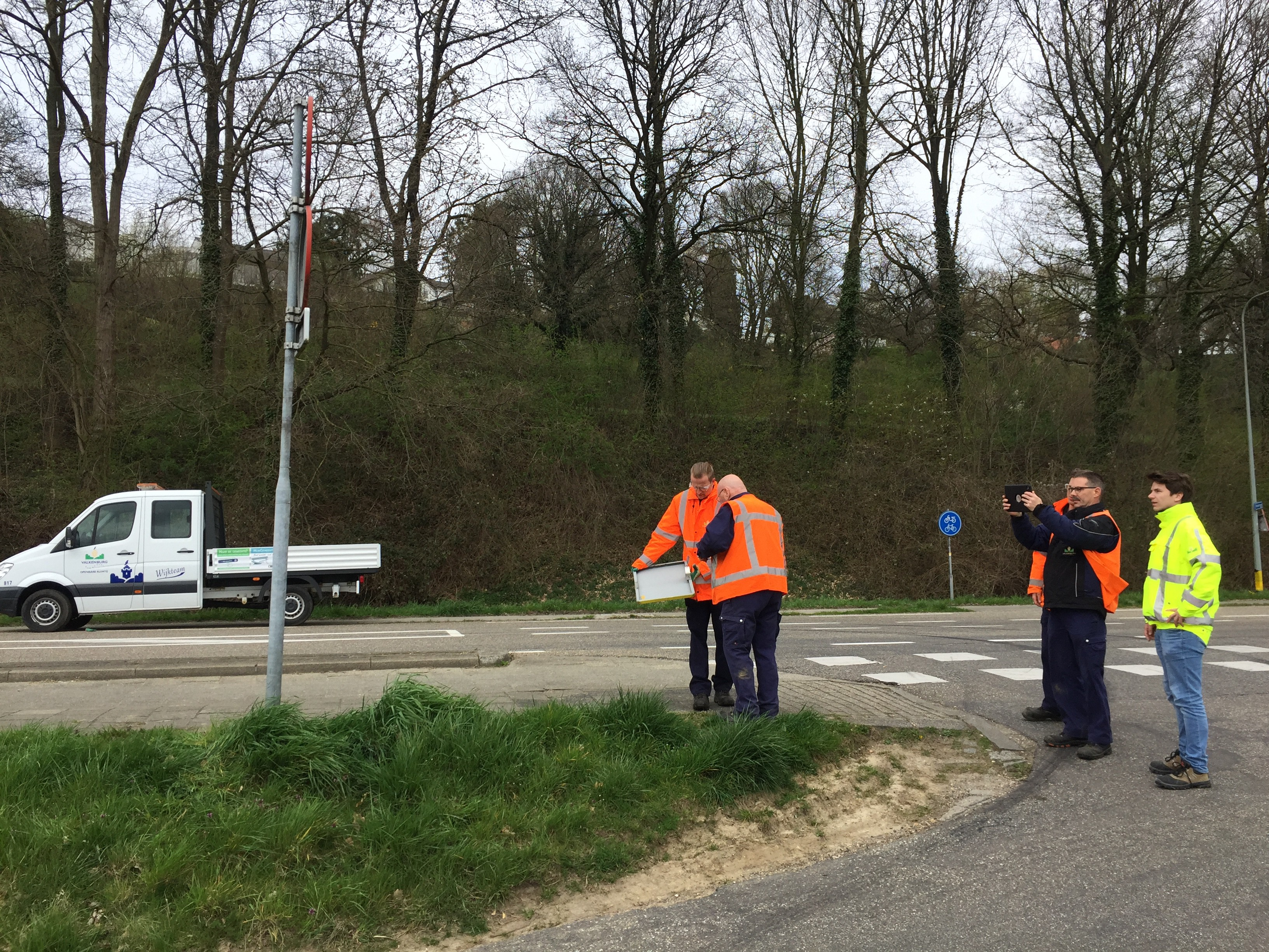 Ronnico geeft training signcloud in valkenburg